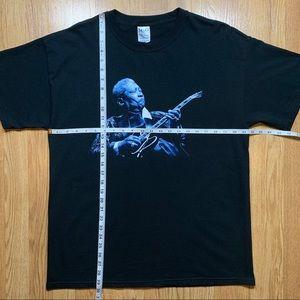 Hanes Shirts - VINTAGE BB KING KING OF THE BLUES 2006 TOUR SHIRT